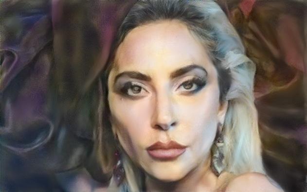 Lady Gaga par baudet